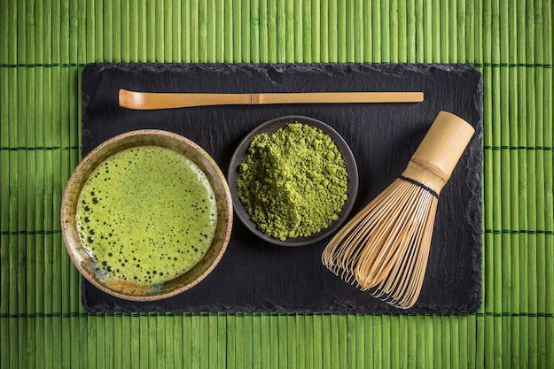 Japanese matcha tea ceremony